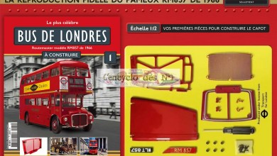 Photo de Hachette : construisez le bus de Londres
