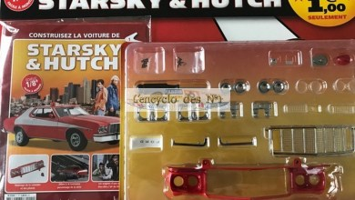 Photo de Hachette : construisez la voiture de Starsky & Hutch