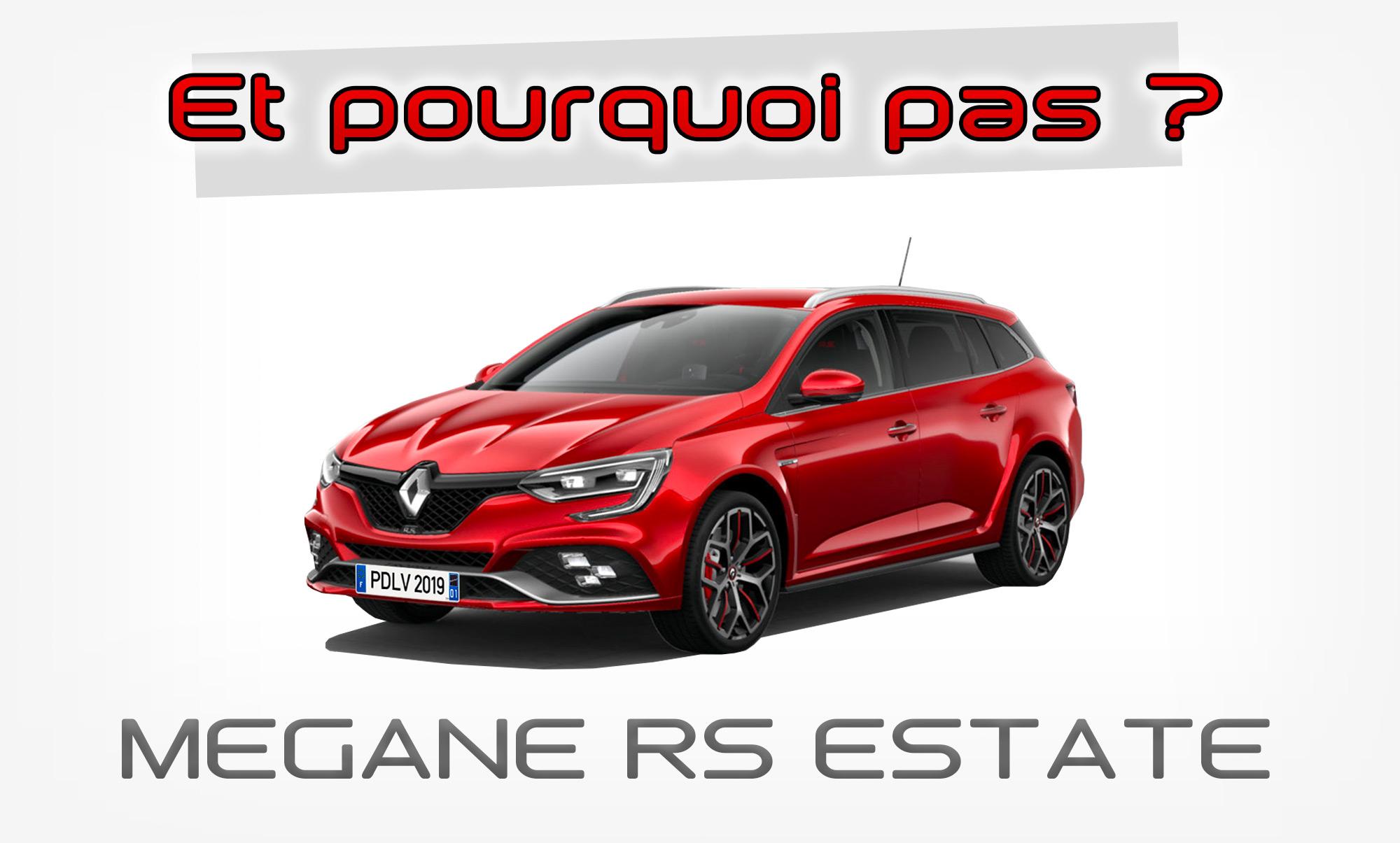 Renault Megane 4 RS Estate