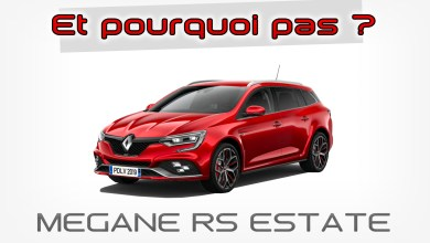 Photo de Et pourquoi pas… Une Megane 4 RS break ?