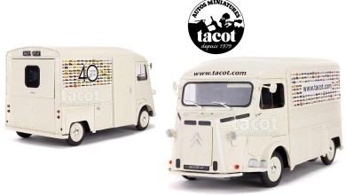 Photo of 1/18 : Un Citroën HY spécial pour célébrer les 40 ans de Tacot