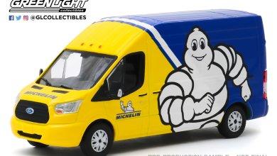 Photo de 1/43 : Un original Ford Transit Michelin signé Greenlight