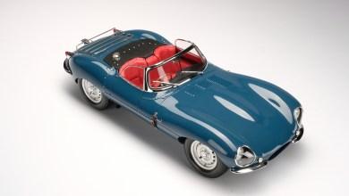 Photo of 1/8 : La Jaguar XKSS d'Amalgam est un bijou