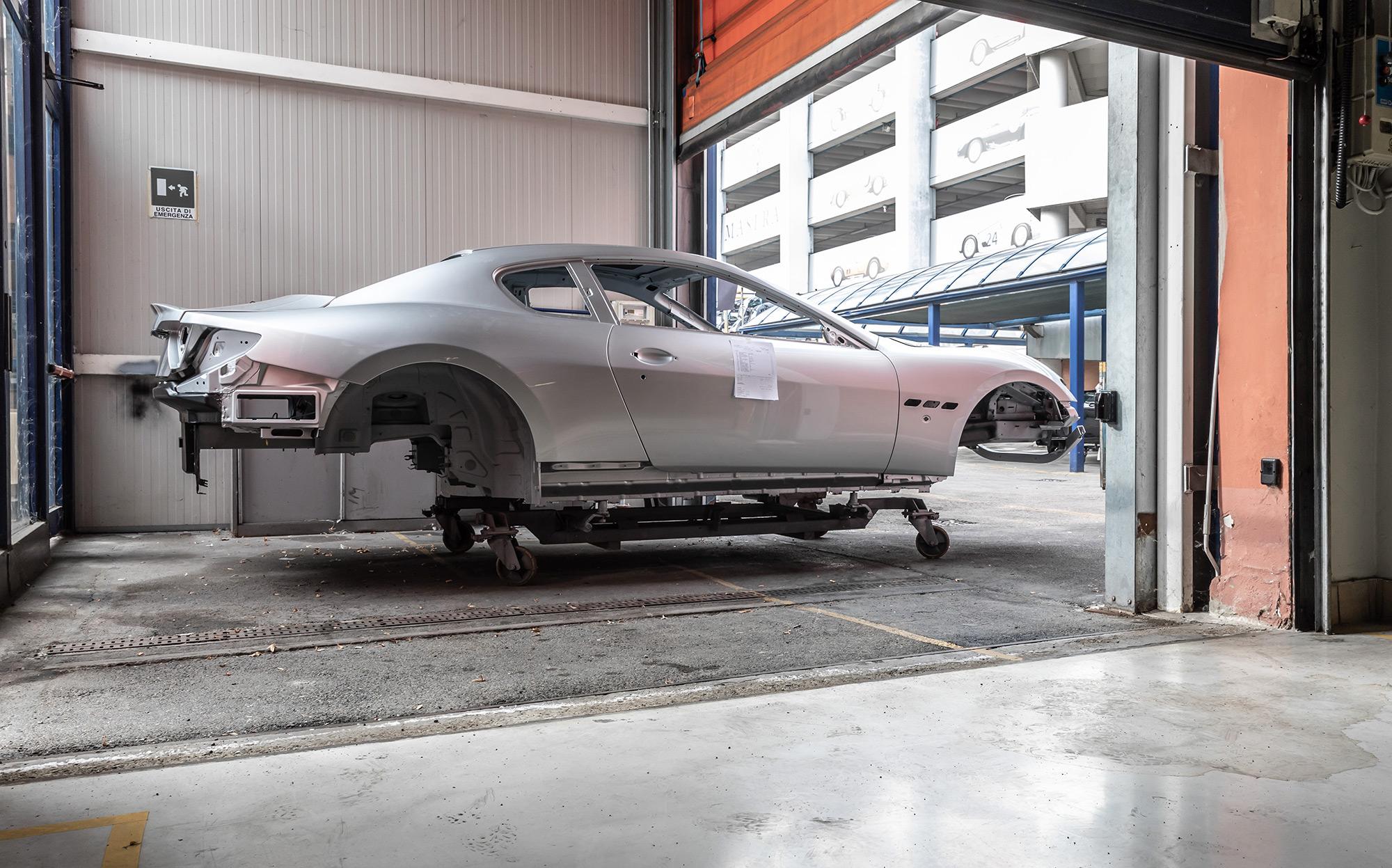 Maserati GranTurismo Zeda fiche technique