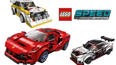 Photo de Lego : 3 nouveautés dans la gamme Speed Champions