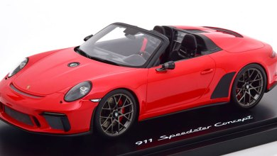 Photo of 1/18 : La Porsche 911 (991) Speedster concept signée Spark