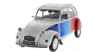 Photo de 1/12 : Z Models propose la 2CV Cocorico