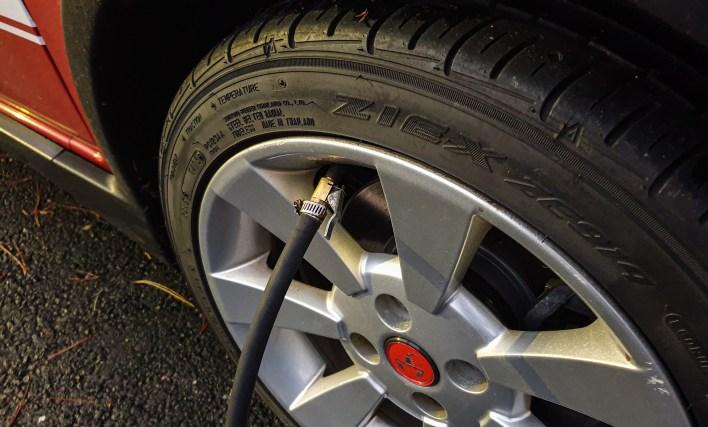Faire la pression pneu