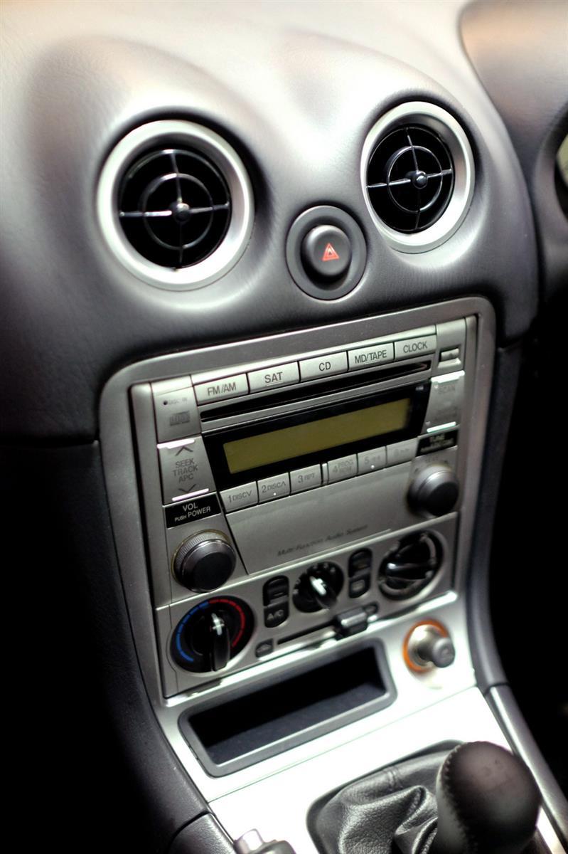 Mazda MX-5 NB coupé console centrale