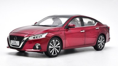 Photo of 1/18 : La Nissan Altima arrive chez Paudi