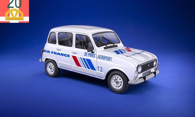 Renault 4 Air France Solido 1/18