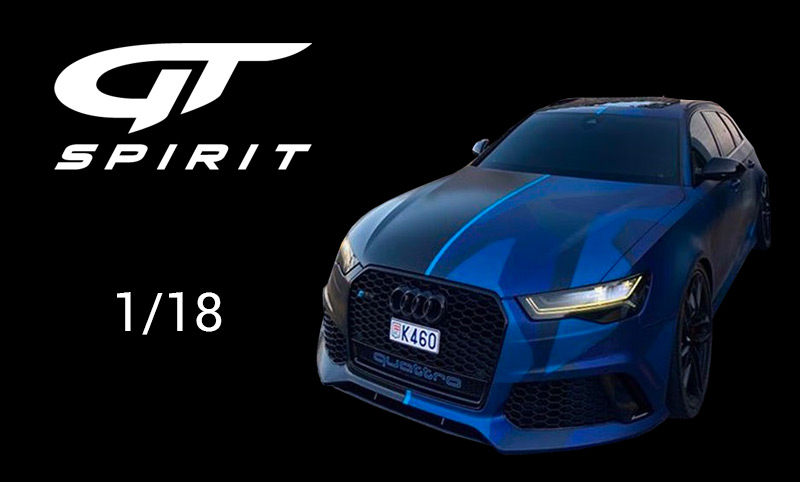 Audi RS 6 GMK GT Spirit 1/18