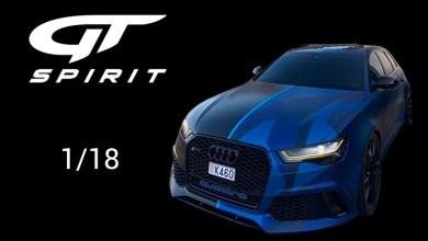 Photo of 1/18 : L'Audi RS 6 de GMK annoncée chez GT Spirit