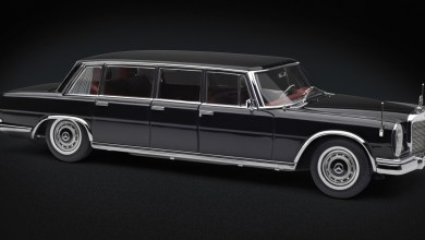 Photo of 1/18 : La Mercedes 600 Pullman CMC est disponible