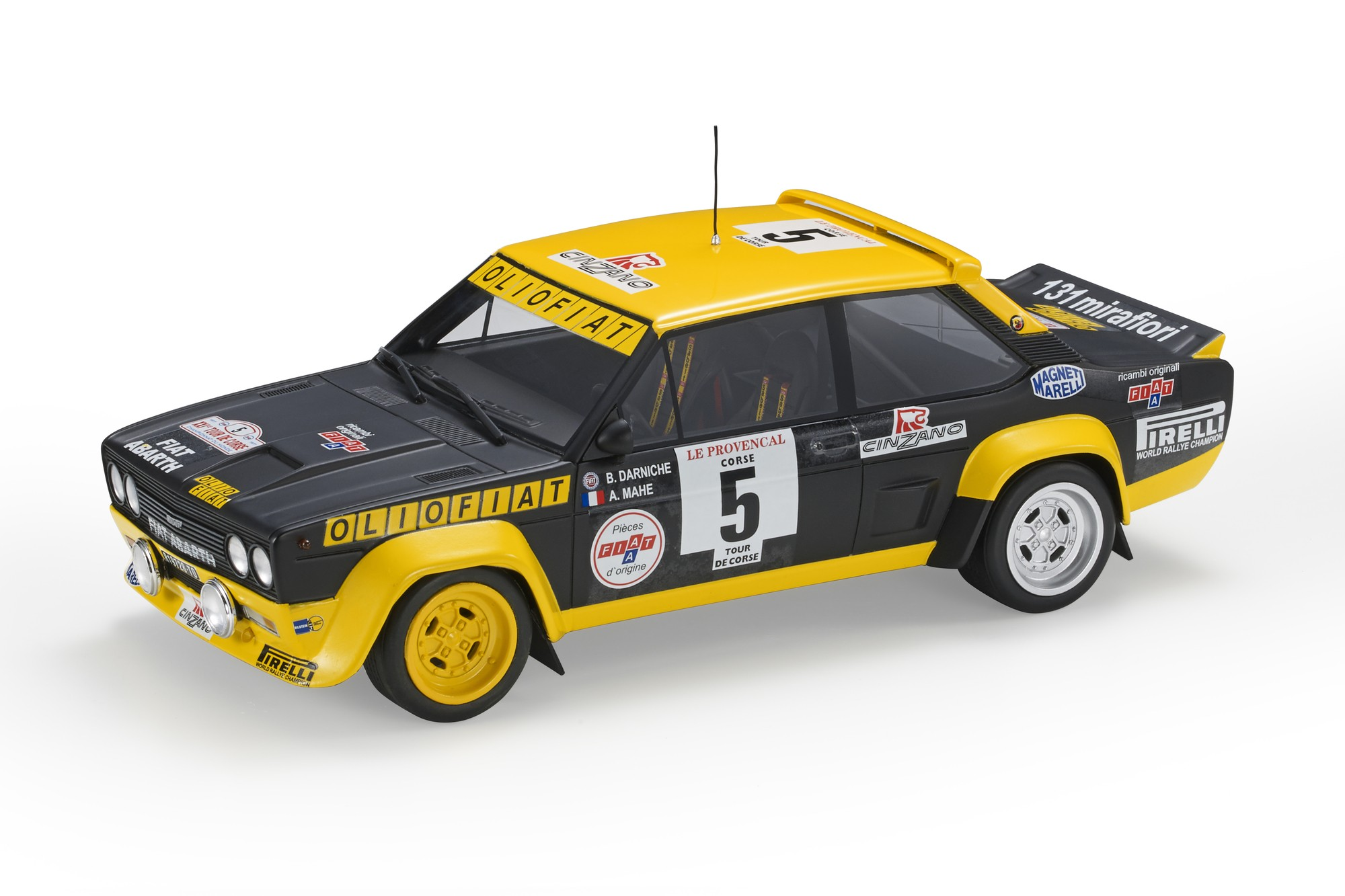 Fiat 131 Abarth - Top Marques 1/18