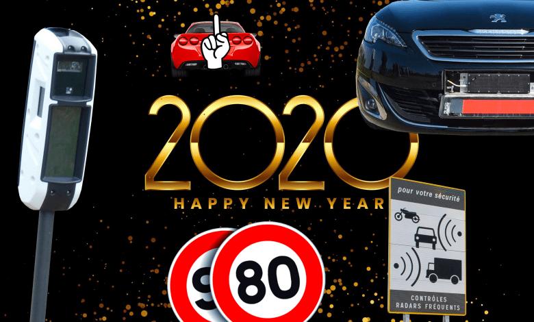 Mesures automobile 2020