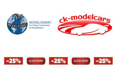Photo of 25% de remise chez CK-Modelcars et Modelissimo