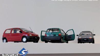 Photo of 1/18 : La Renault Twingo Solido est quasiment prête !