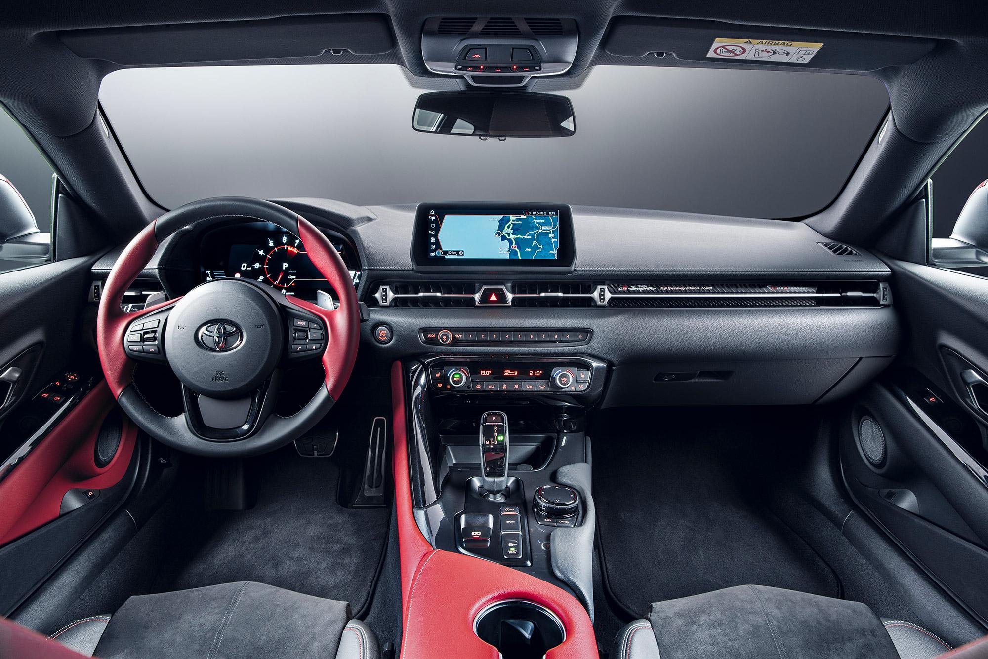 Toyota GR Supra 2.0 intérieur