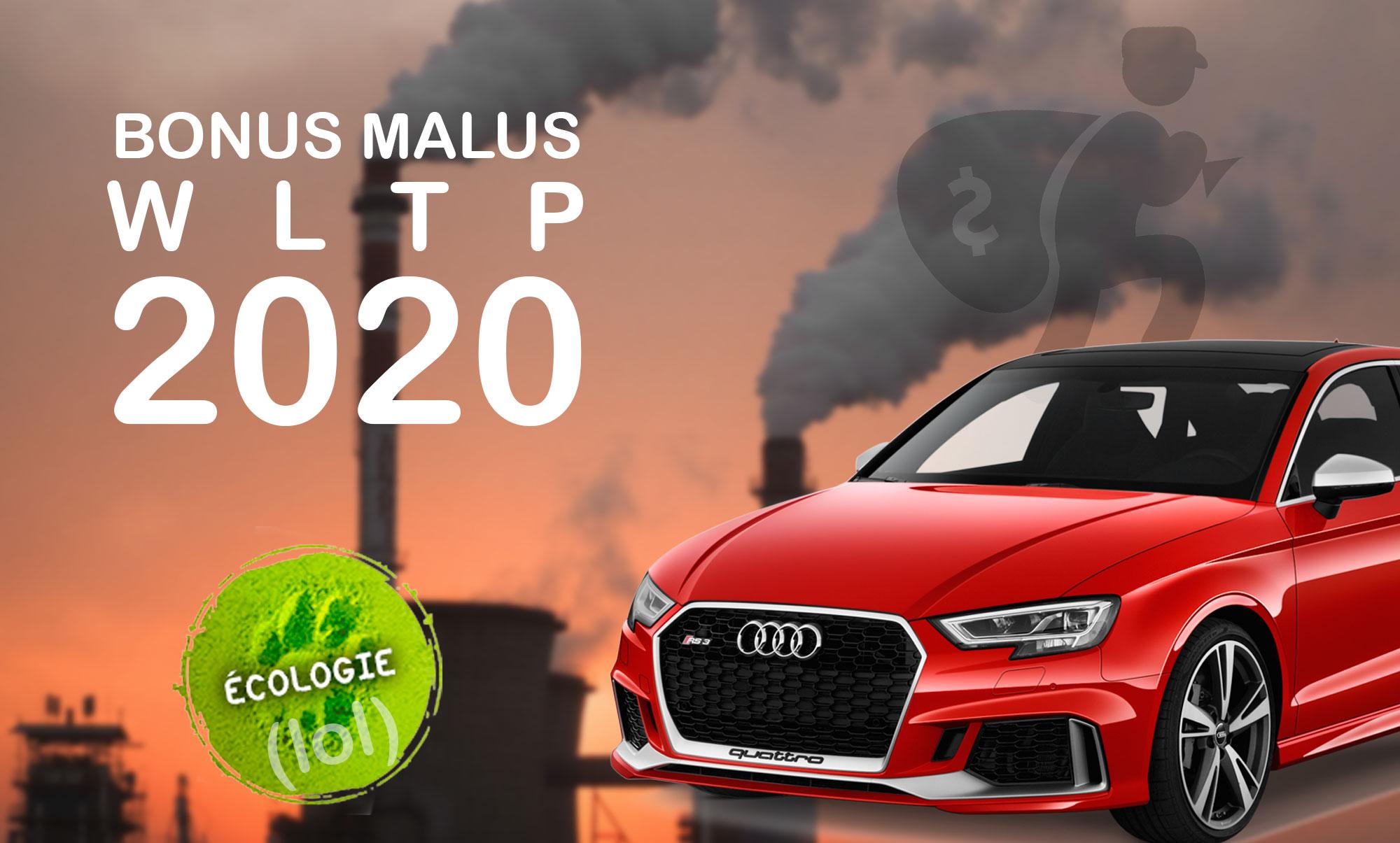 Bonus Malus écologique WLTP 2020