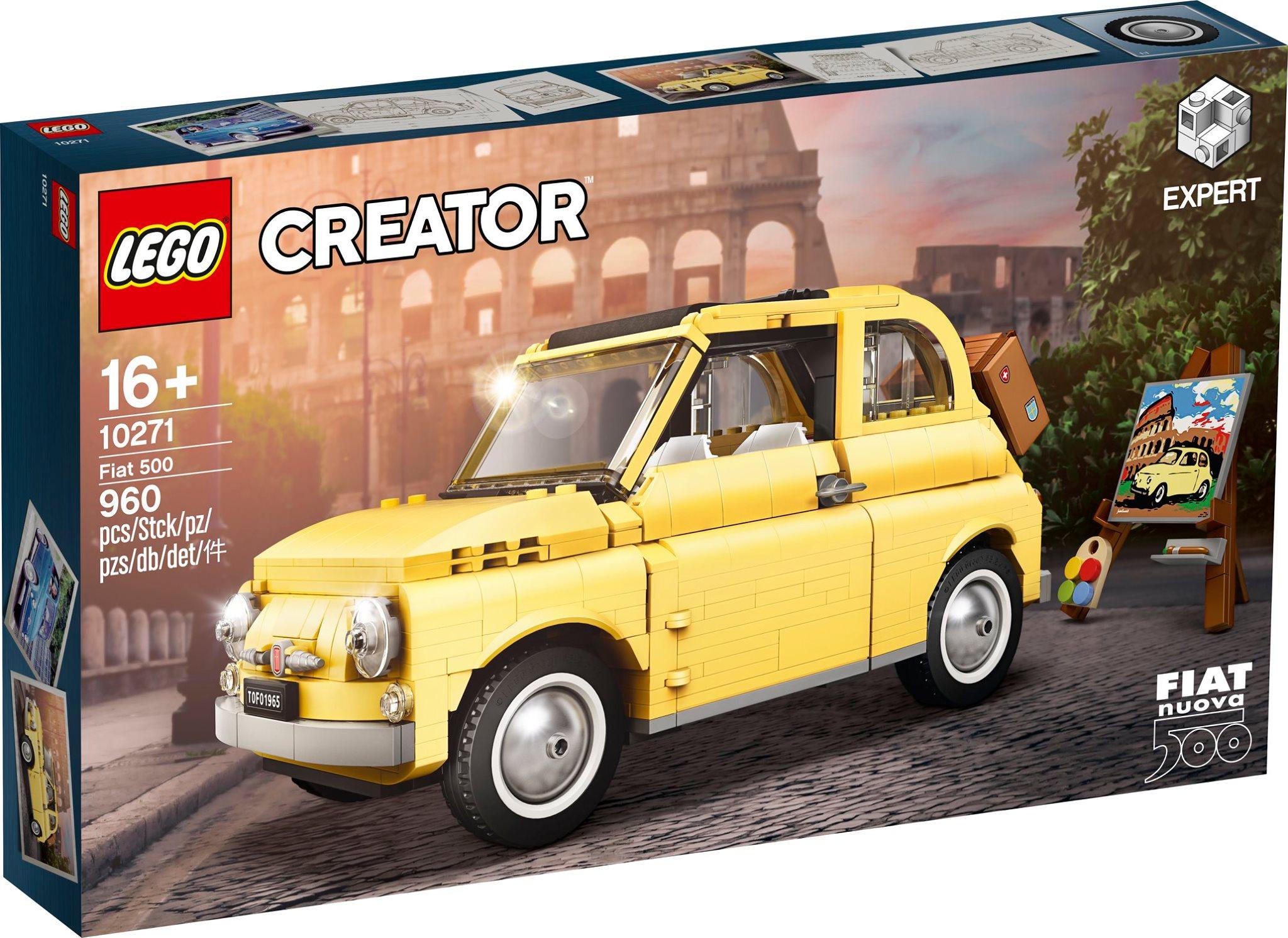 Lego Creator Fiat 500