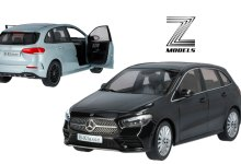 Photo of 1/18 : La Mercedes Classe B (W247) arrive en miniature