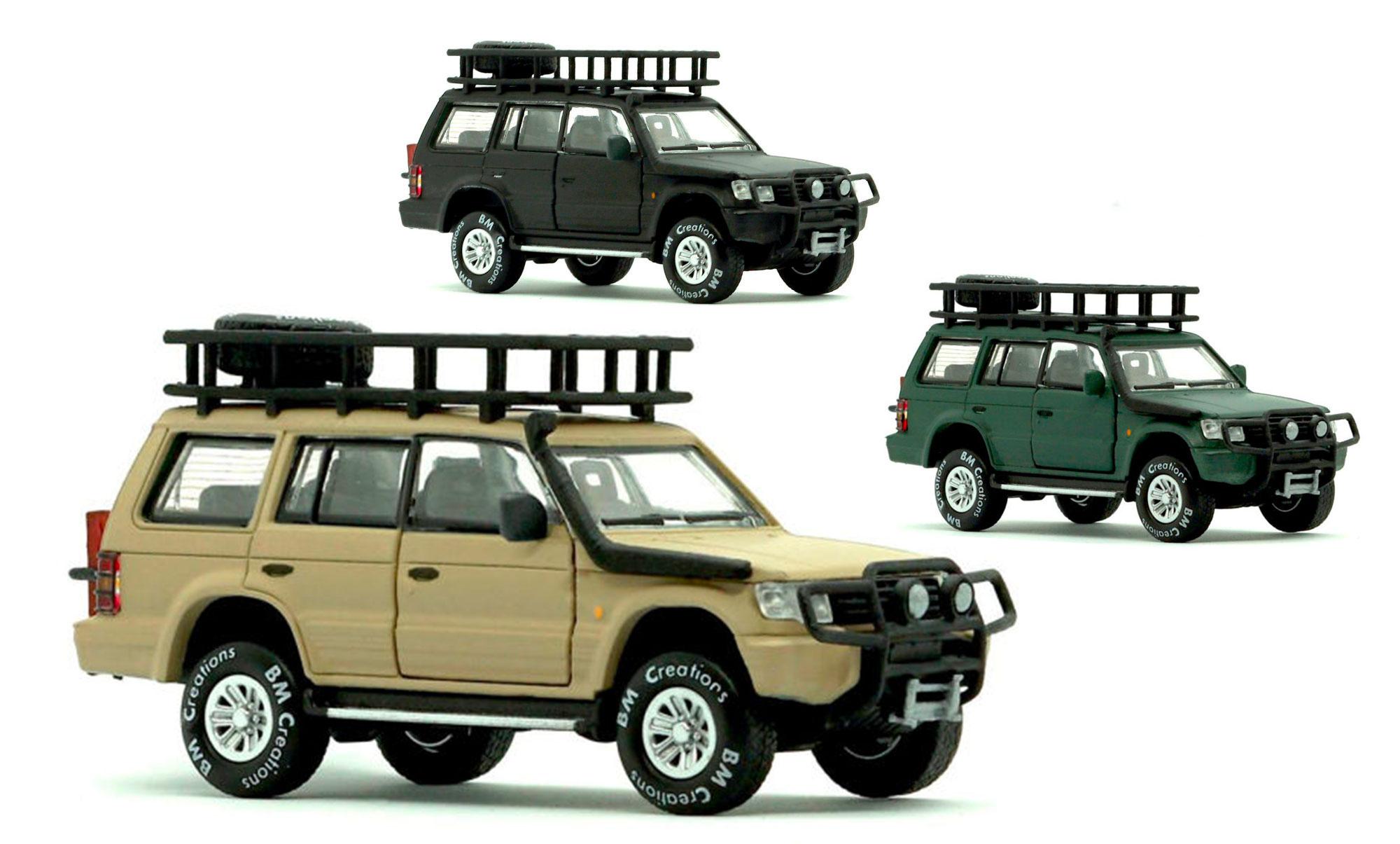 Mitsubishi Pajero BM Creations
