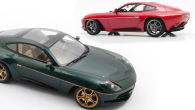 Photo of 1/18 : L'Alfa Romeo Disco Volante Touring disponible chez Cult Models