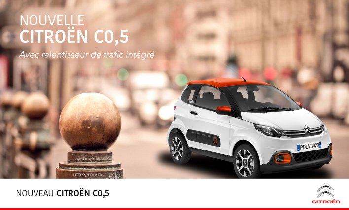 Voiture sans permis Citroën