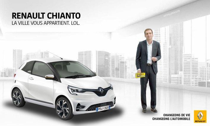 Voiture sans permis Renault