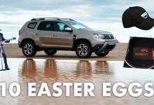 Easter Eggs Dacia