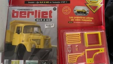 Photo of Hachette : construisez le Berliet GLR 8 M3 au 1/12