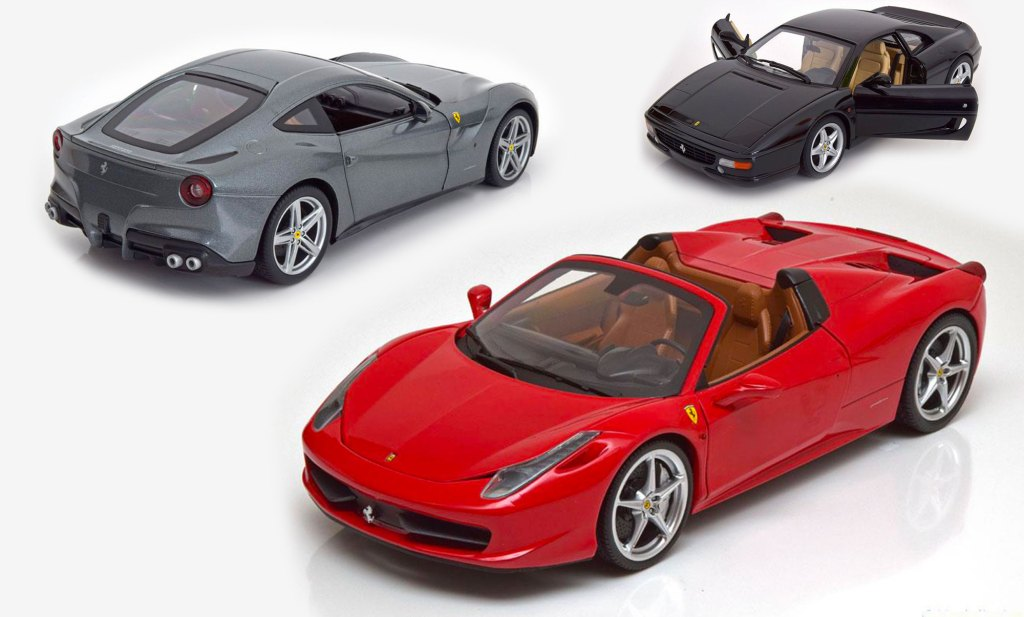 Promotions sur les Ferrari 1/18 Hot Wheels