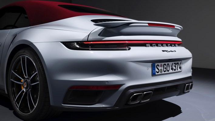 Porsche 911 (992) Turbo S cabriolet