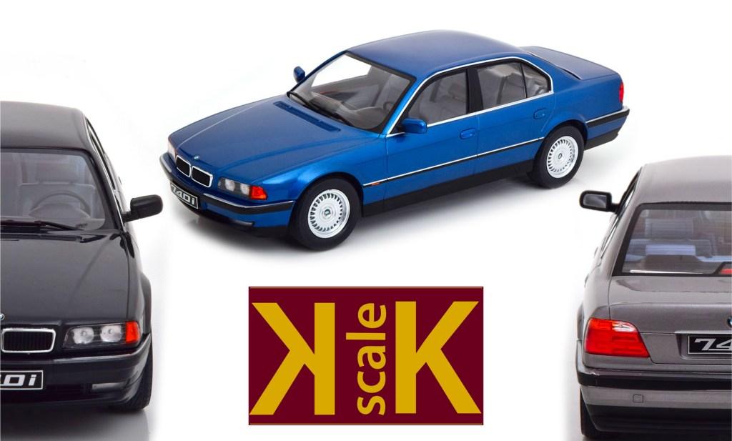 BMW Série 7 E38 KK-Scale 1/18