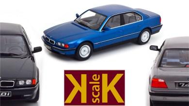Photo of 1/18 : La BMW 740i (E38) débarque chez KK-Scale