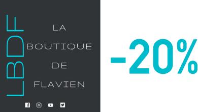 Photo of 1/64 : 20% de remise sur la Boutique de Flavien