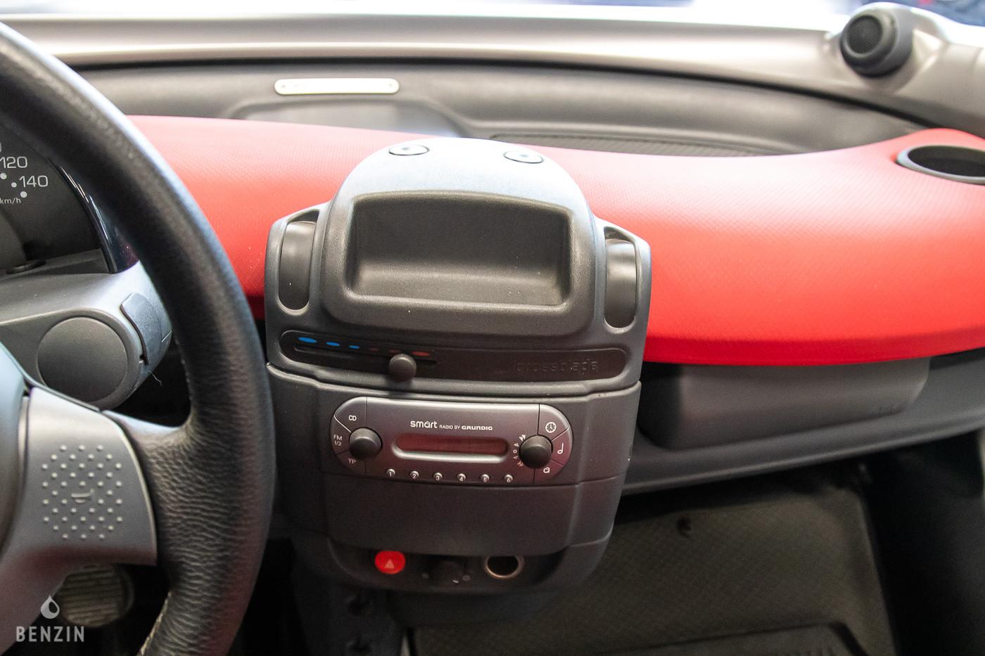 Console centrale de la Smart Crossblade