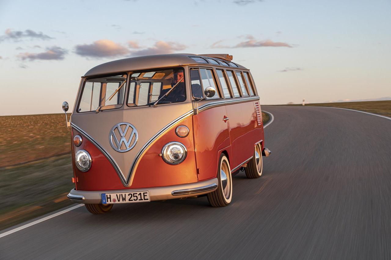 Volkswagen e-Bulli 2020 conversion électrique Combi