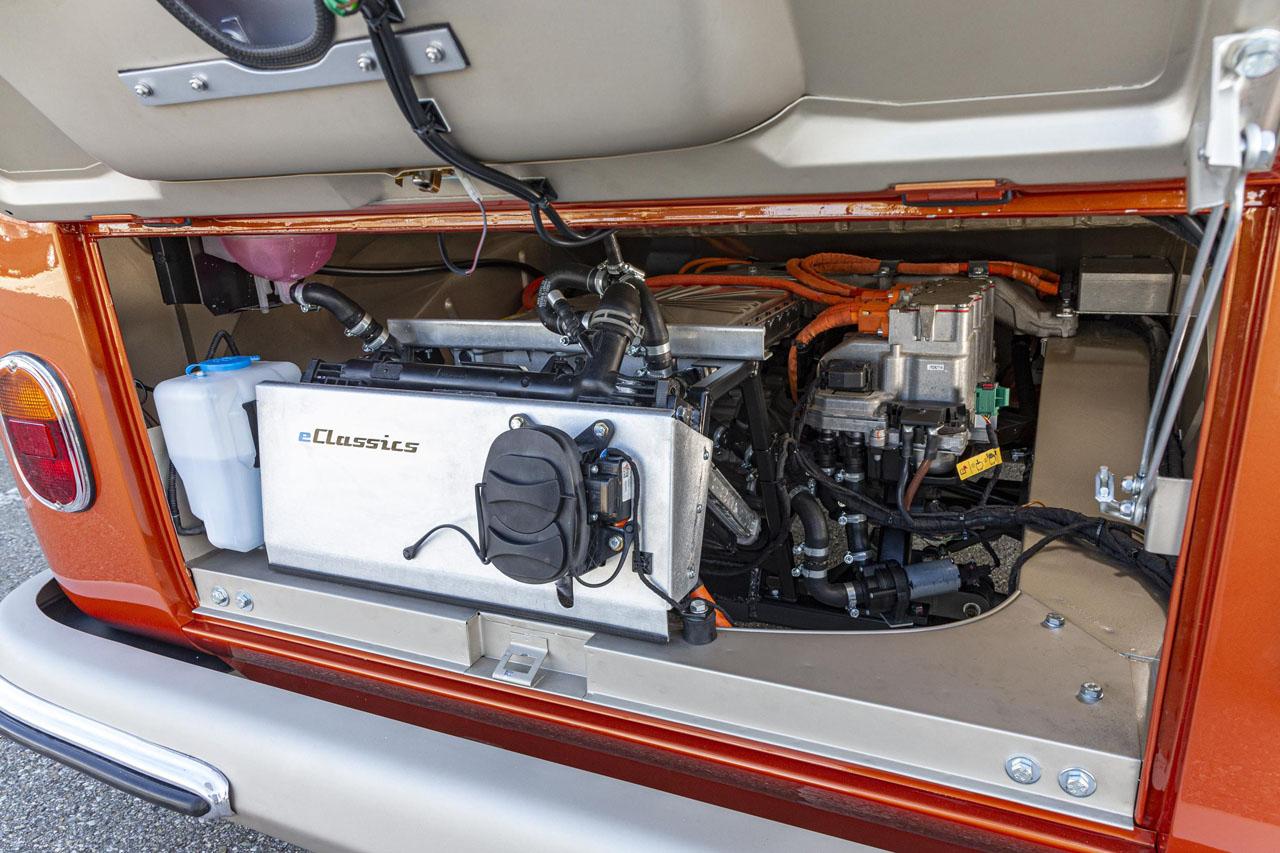 Volkswagen e-Bulli 2020 moteur électrique