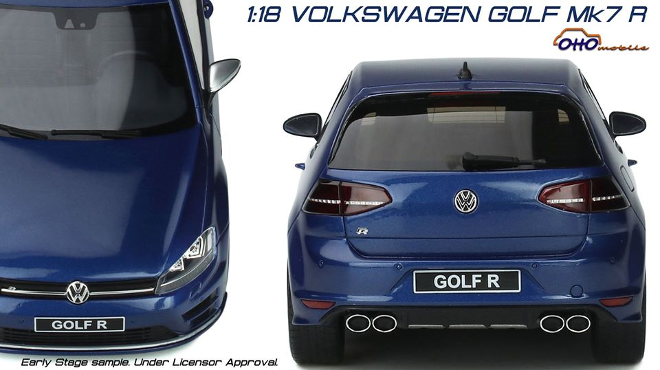 Volkswagen Golf 7R 1/18 OttOmobile