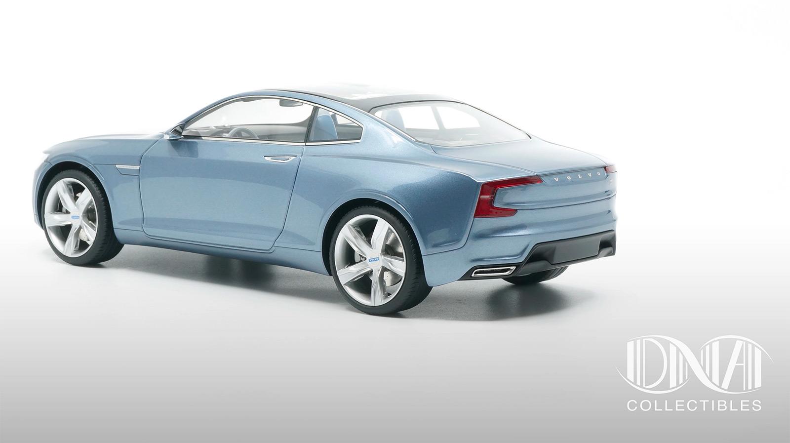 Partie arrière de la Volvo Concept Coupé DNA Collectibles 1/18