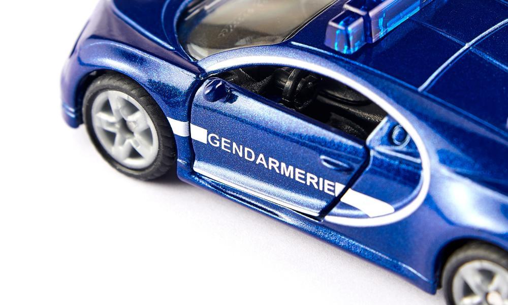 1/64 Siku Bugatti Chiron gendarmerie