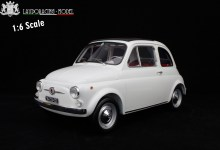 Photo of 1/6 : LaudoRacing prépare une Fiat 500 F de 50 cm !