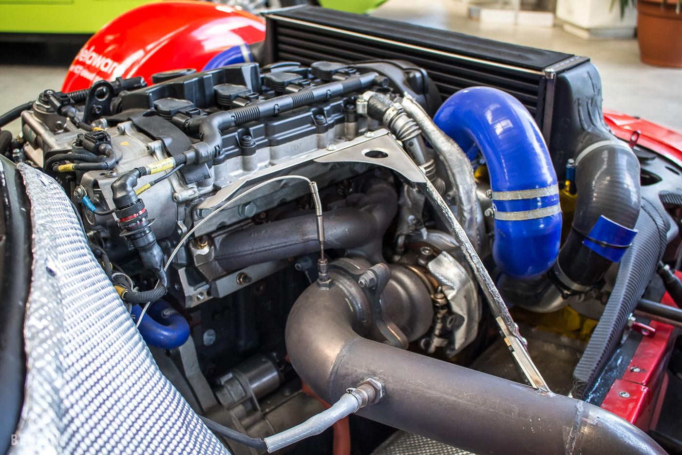 Gillet Vertigo Pikes Peak moteur
