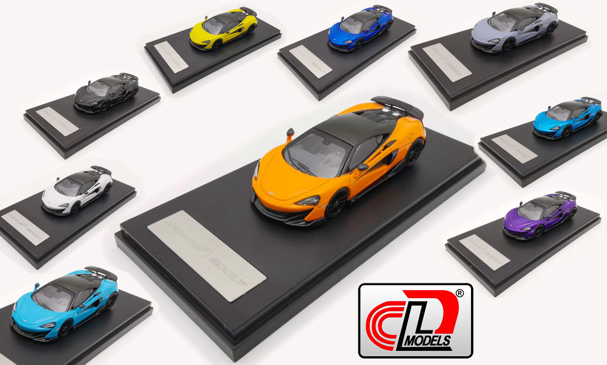 1/64 McLaren 600LT - LCD Models