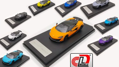 Photo of 1/64 : La McLaren 600LT arrive chez LCD Models