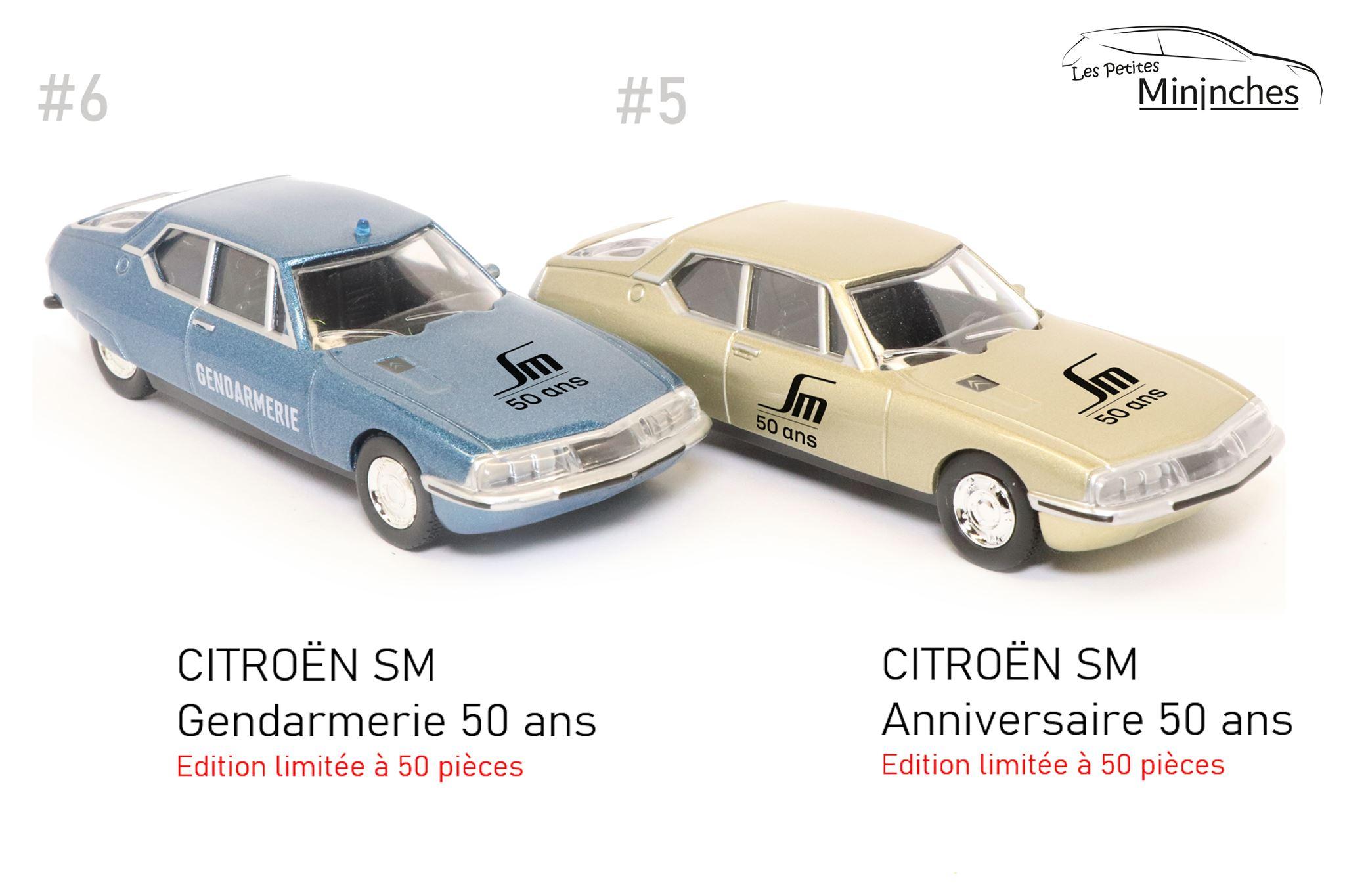 1/64 Citroën SM Les Petites Mininches