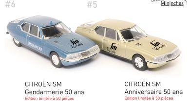 Photo of 1/64 : Deux Citroën SM rejoignent Les Petites Mininches