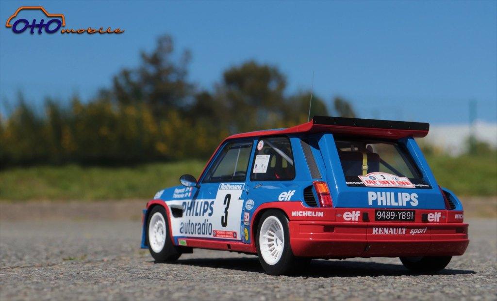 1/12 Renault 5 Maxi Turbo J. Ragnotti